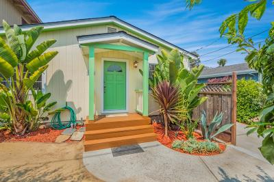 SANTA CRUZ Single Family Home For Sale: 120 Grandview St