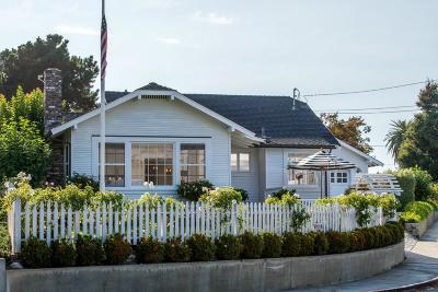 Santa Cruz Single Family Home For Sale: 528 Atlantic Ave