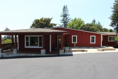 Santa Cruz County Single Family Home For Sale: 246 Sims Rd