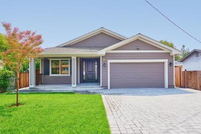 SAN JOSE Single Family Home For Sale: 143 Sunnyslope Ave