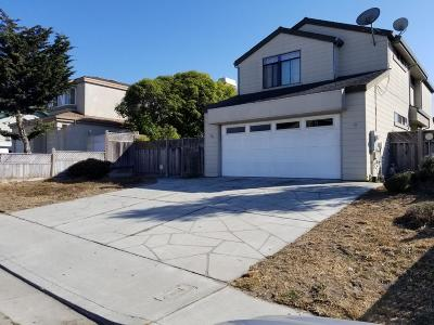 SEASIDE CA Single Family Home For Sale: $649,000