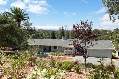 Los Altos Hills Single Family Home For Sale: 14433 Debell Rd