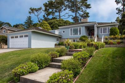 Pacific Grove Single Family Home For Sale: 1067 Morse Dr