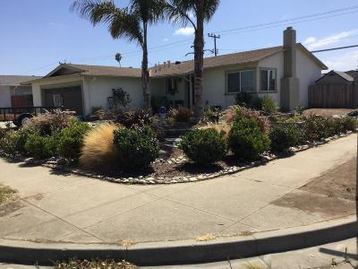 SALINAS Single Family Home For Sale: 378 Mendocino Dr