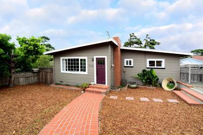 Monterey Single Family Home For Sale: 1099 Prescott Ave