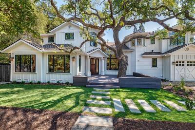 MENLO PARK Single Family Home For Sale: 240 Ringwood Ave