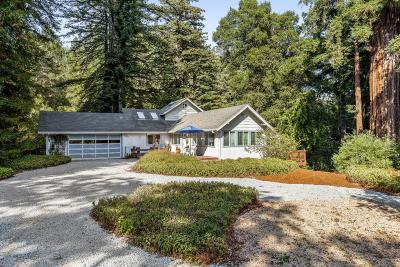 Scotts Valley Single Family Home Contingent: 782 Lockhart Gulch Rd