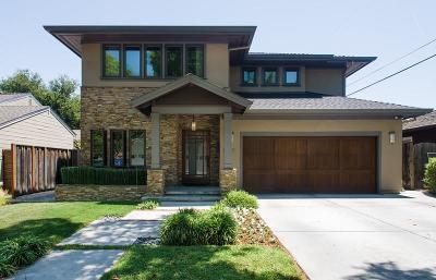 Menlo Park Single Family Home For Sale: 1044 Sonoma Ave