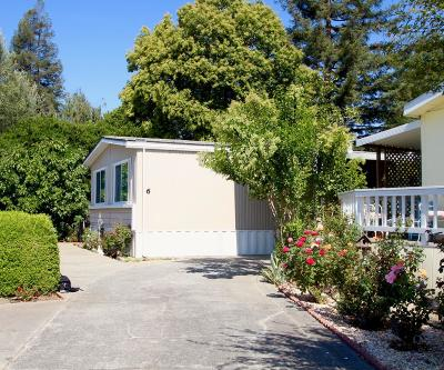 MORGAN HILL Mobile Home For Sale: 6 Spring Ln 6
