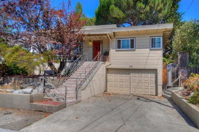 SAN CARLOS Single Family Home For Sale: 148 Palm Ave