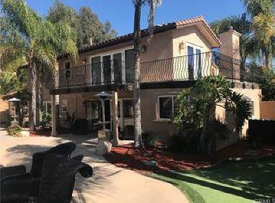 San Diego County Single Family Home For Sale: 2218 Valley Rd