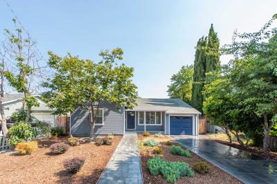 Redwood City Single Family Home For Sale: 3071 Page St