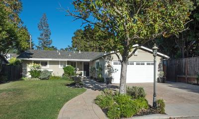 LOS GATOS Single Family Home For Sale: 192 Jo Dr