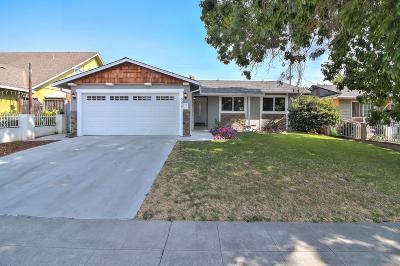 SAN JOSE Single Family Home For Sale: 3274 Vernice Ave