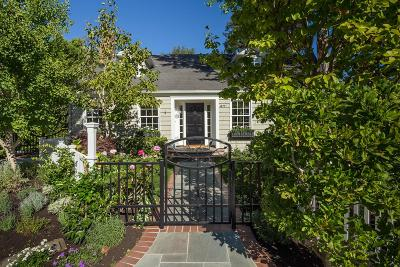 Palo Alto Single Family Home For Sale: 47 Hamilton Ct