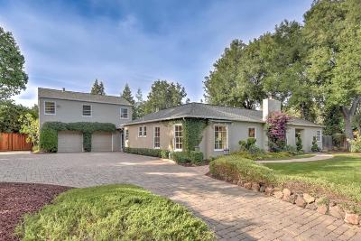 CAMPBELL Single Family Home For Sale: 1567 Dry Creek Rd