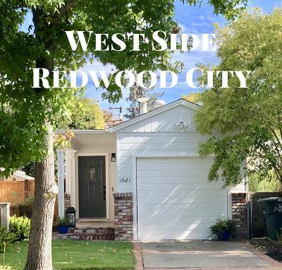 Redwood City Single Family Home For Sale: 1921 Poplar Ave