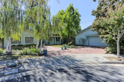 LOS GATOS Single Family Home For Sale: 16964 Frank Ct