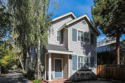 MENLO PARK Townhouse For Sale: 657 Roble Ave