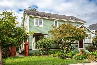Santa Cruz Single Family Home For Sale: 123 Berkshire Ave