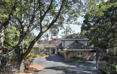 LOS ALTOS HILLS CA Single Family Home For Sale: $6,995,000