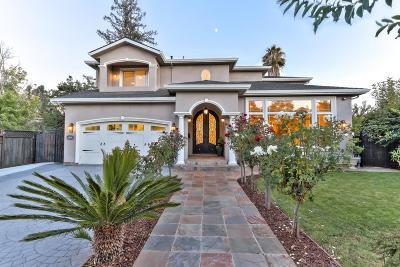 Los Gatos Single Family Home For Sale: 15940 Escobar Ave