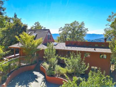 LOS GATOS Single Family Home For Sale: 18656 Favre Ridge Rd