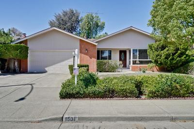 SUNNYVALE Single Family Home For Sale: 1531 Blackhawk Dr