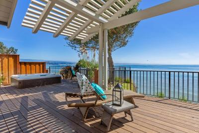 Santa Cruz County Single Family Home For Sale: 4190 Opal Cliff Dr