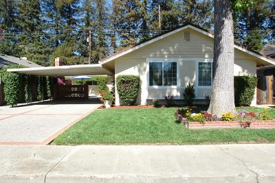 SANTA CLARA Single Family Home For Sale: 3879 Melody Ln