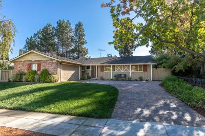 SUNNYVALE Single Family Home Contingent: 1312 Nelson Way