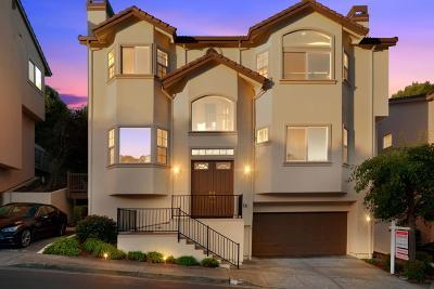 South San Francisco Single Family Home For Sale: 60 Buena Vista Rd