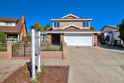 SAN JOSE CA Single Family Home For Sale: $1,075,000