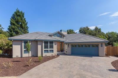 Los Altos Single Family Home For Sale: 1105 Briarwood Ct