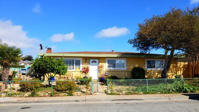Seaside Single Family Home For Sale: 1696 Lowell St