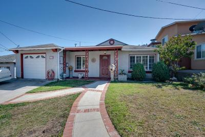 South San Francisco Single Family Home For Sale: 1253 Hillside Blvd