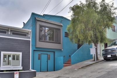 SAN FRANCISCO Single Family Home For Sale: 27 Putnam St