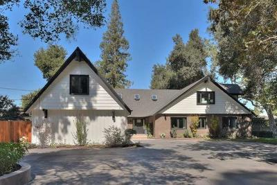SAN JOSE Single Family Home For Sale: 2241 Dry Creek Rd