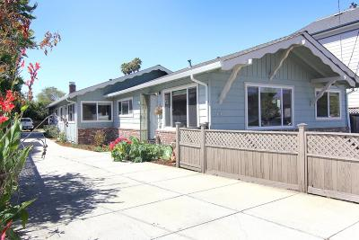 Santa Cruz Multi Family Home For Sale: 349 Pennsylvania Ave