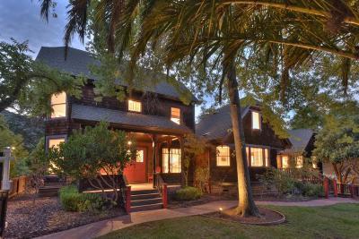 LOS GATOS Single Family Home For Sale: 63 Fairview Plz