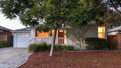 REDWOOD CITY Single Family Home For Sale: 3243 Spring St