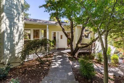 REDWOOD CITY Single Family Home For Sale: 3319 Oak Knoll Dr