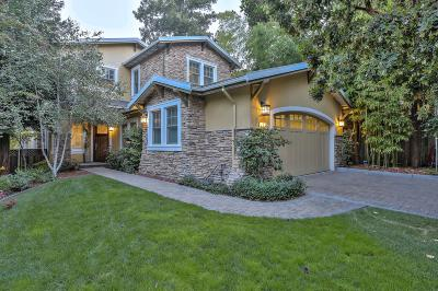 LOS GATOS Single Family Home For Sale: 17 Monroe Ct