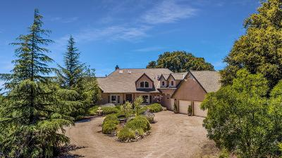 LOS GATOS Single Family Home For Sale: 13525 Indian Trail