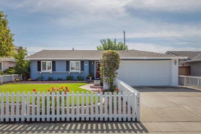 SAN JOSE Single Family Home For Sale: 550 Calero Ave