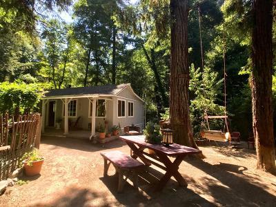 Boulder Creek Single Family Home For Sale: 635 Primavera Rd