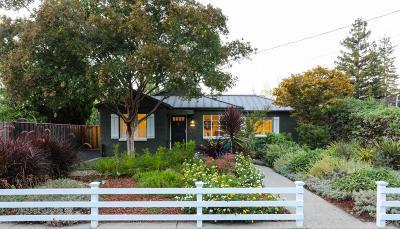 Los Altos Single Family Home For Sale: 1260 Payne Dr