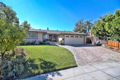 SAN JOSE Single Family Home For Sale: 2606 Castleton Ct