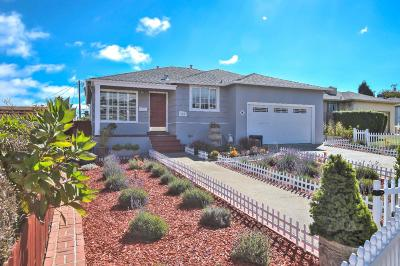 South San Francisco Single Family Home For Sale: 140 Rosewood Way