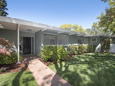 MENLO PARK Single Family Home For Sale: 1794 Oakdell Dr